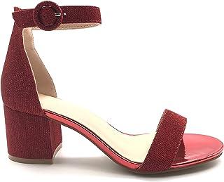 Mujer Zapatos Amazon esGlitter 2040903031 Para 0nPkw8XO