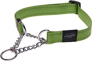 Rogz Obedience Dog Collar, Lime, Medium
