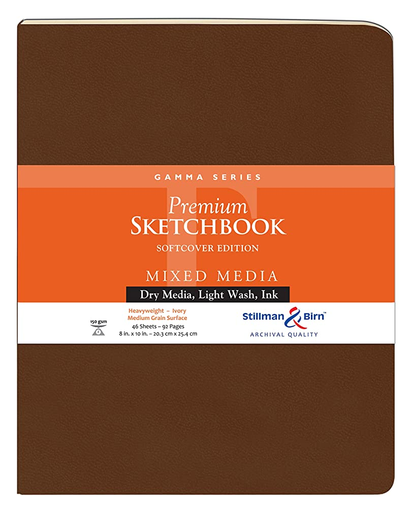 Stillman & Birn Gamma Series Softcover Sketchbook, 8