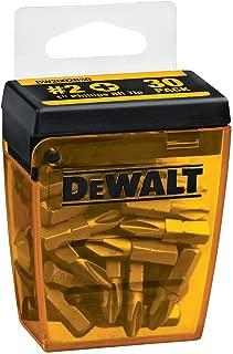 DEWALT DW2002B30 #2 Phillips 1-Inch Bit Tips with Bit Box (30-Pack)