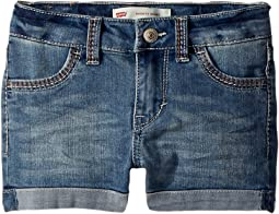 Levi's® Kids Thick Stitch Shorty Shorts (Toddler)