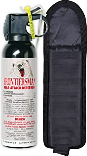 SABRE Frontiersman Bear Spray 7.9 oz (Holster Options & Multi-Pack Options) —..