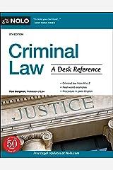 Criminal Law: A Desk Reference Kindle Edition