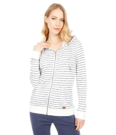 Roxy Trippin Zip Hoodie (Mood Indigo Zoupla Stripes) Women