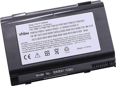 vhbw Li-Ion Akku 4400mAh 10 8V f r Notebook Laptop Fujitsu LifeBook AH550 E780 E8250 E8260 E8270 E8280 E8410 wie FPCBP175 0644670 Schätzpreis : 49,89 €