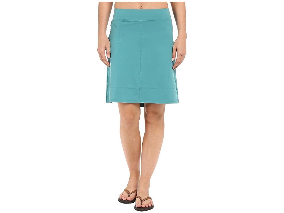 Toad&Co Corsica Skirt (Dark Turquoise) Women