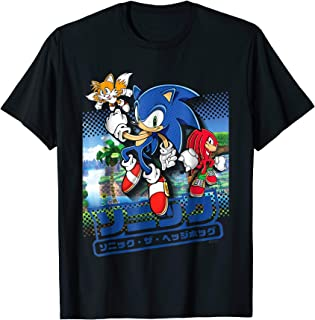 Best sonic hedgehog t shirts Reviews