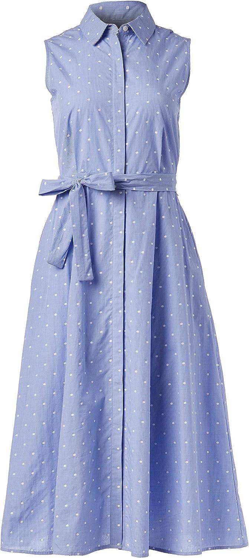 Tommy Hilfiger Women's 大幅にプライスダウン Shirt 無料サンプルOK Cotton Dress
