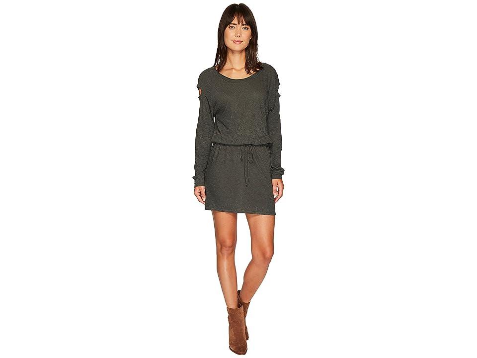 Lanston Drop Shoulder Cut Out Mini Dress (Sycamore) Women