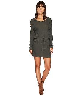 Drop Shoulder Cut Out Mini Dress