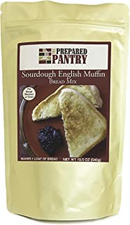 Sponsored Ad - The Prepared Pantry Sourdough English Muffin Bread Mix; Single Pack; For Bread Machine or Oven