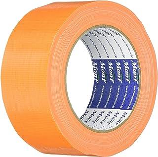 古藤工業 Monf No.890 カラー布粘着テープ オレンジ 厚0.22mm×幅50mm×長さ25m