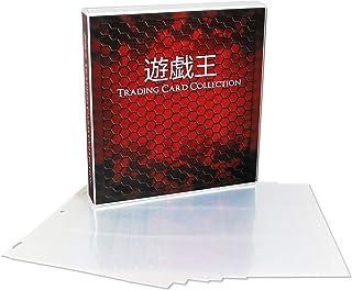 UniKeep Yu-Gi-Oh Themed Collectible Card Storage Binder, 450 Card Capacity (Honeycomb)
