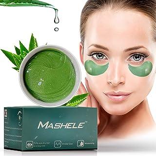 MASHELE Korean 60pcs Black Pearl Collagen Gold Under Eye Gel Patches Mask, Treatment for Puffy Eyes, Dark Circles, Anti Wr...