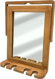 Ginsey Bamboo Shower Mirror