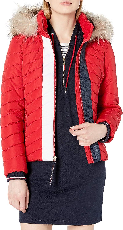 Tommy Hilfiger Womens Puffer Jacket