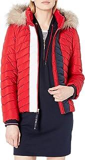 womens Puffer Jacket With Fur Hood
