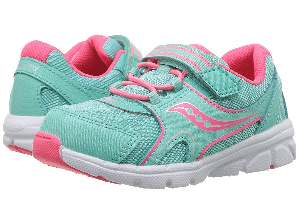 Saucony Kids Baby Vortex (Toddler/Little Kid) (Turquoise) Girl