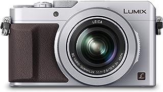 Panasonic Lumix DMC-LX100 - Cámara compacta de 12.8 MP (Pantalla de 3 Zoom óptico 3X Sensor Mos de 4/3) Color Plateado (Importado)
