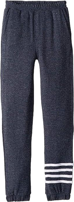 Extra Soft Love Knit Joggers w/ Leg Stripes (Big Kids)