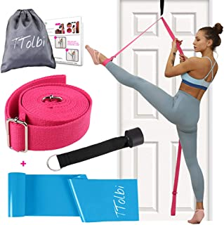 TTolbi Leg Stretcher: Stretching with Door Stretch Strap for Flexibility | Splits Trainer : Dance Equipment for Stretching...