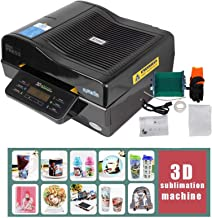3D Muti-fuction Vacuum Sublimation Heat Press Machine Red or Black Color Three-dimensional printing CE Certification