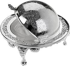 Queen Anne Zuccheriera in argento placcato telaio con finitura resistente all ossidazione che non necessita di lucidatura
