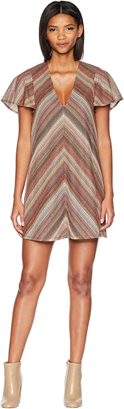 Chevron Knit Dress