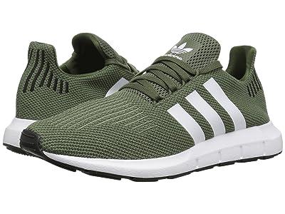 adidas Originals Swift Run W (Base Green/White/Black) Women