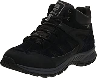 Timberland Sadler Pass Fabric and Leather Mid Gore-tex, Bottes Chukka Homme