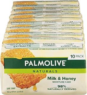 Palmolive Naturals Bar Soap Replenishing Milk and Honey, 10 x 90g