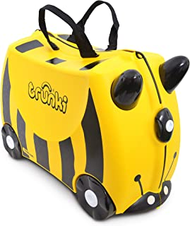 Trunki Bernard Bee Ride-On Suitcase, Yellow
