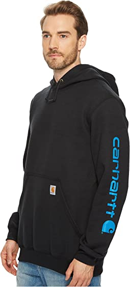 Carhartt - Midweight Signature Sleeve Logo Hooded Sweatshirt