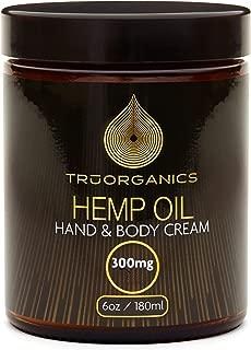 HGS Botanicals FS Hemp Oil Supplement Body, Facial, and Neck Cream 300mg 180mL