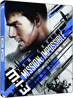 Mission Impossible 3 | Steelbook Edition | 4K Ultra HD + Blu-ray | Arabic Subtitle Included