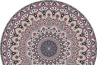 Rugs for bedrooms Low Pile Carpet Non Slip Chair Mat Silent Floor Protector Mat for Wooden Floors Ceramic Tile Laminate(Si...