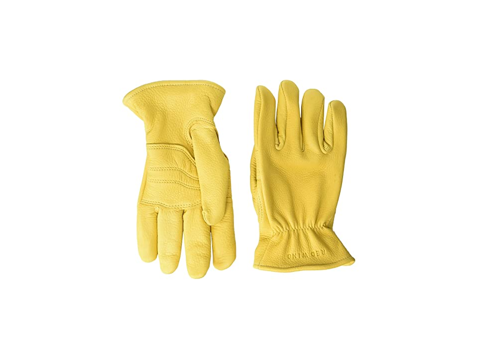 Red Wing Heritage Lined Gloves (Yellow Deerskin) Cycling Gloves