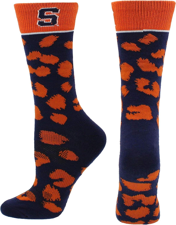 TCK Syracuse Orange Socks Womens Savage Crew Socks