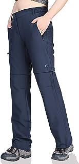 Women's Convertible Pants, Quick Dry Hiking Zip-Off...