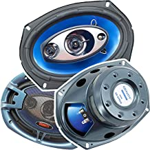 $36 » (Pair) Gravity 6x9 inch 4-Way 380 Watts Coaxial Car Speakers CEA Rated - 6996H (Renewed)
