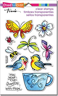 Stampendous CLEAR STAMPS STAMPND WINGED CUP, One Size
