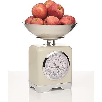 KitchenCraft Lovello - Báscula de cocina mecánica (capacidad de 5 kg): Amazon.es: Hogar