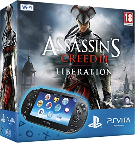 PlayStation Vita (PS Vita) - Console [Wi-Fi] con Assassin's Creed III: Liberation (via PSN) e Memory Card 4 GB [Bundle]