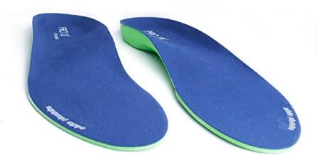 Pro11 wellbeing Orthotic Insoles Full Length with Arch Supports, Metatarsal and Heel Cushion for Plantar Fasciitis Treatment (4.5-6) Blue