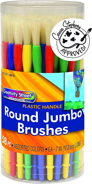Creativity Street Jumbo Paint Brush 58 Popular brand in the world Pack AC5161 High quality Assortment