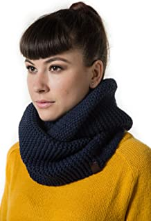 Marino's Women's Cable Knit Infinity Scarves, Fashion Winter Circle Scarf Wrap