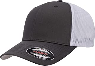 Flexfit Unisex-Adult's Trucker Mesh Cap, Black