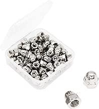 binifiMux 100pcs M4 Acorn Cap Nuts 304 Stainless Steel