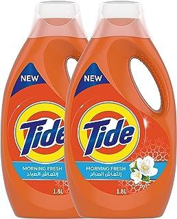 Tide Power Gel Detergent, Morning Fresh Scent, 2 x 1.8L