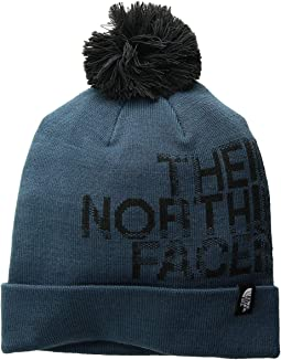 The north face triple cable fur pom  cf7ec2eee01c